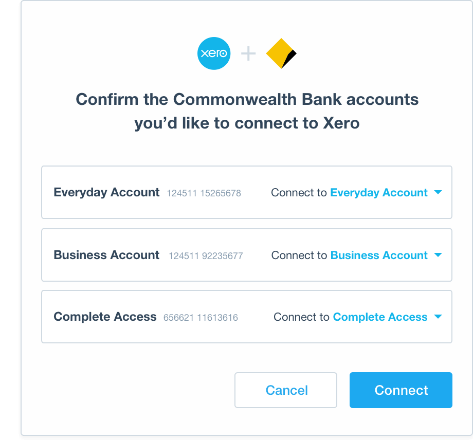 CommBank Direct Feeds