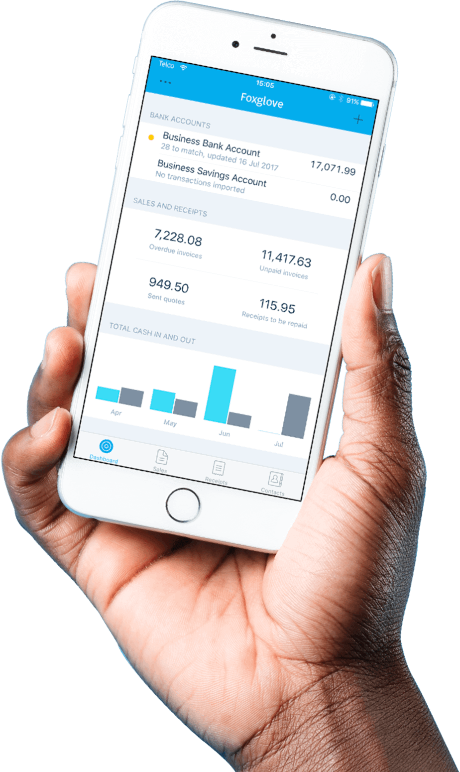 xero cloud accounting mobile app