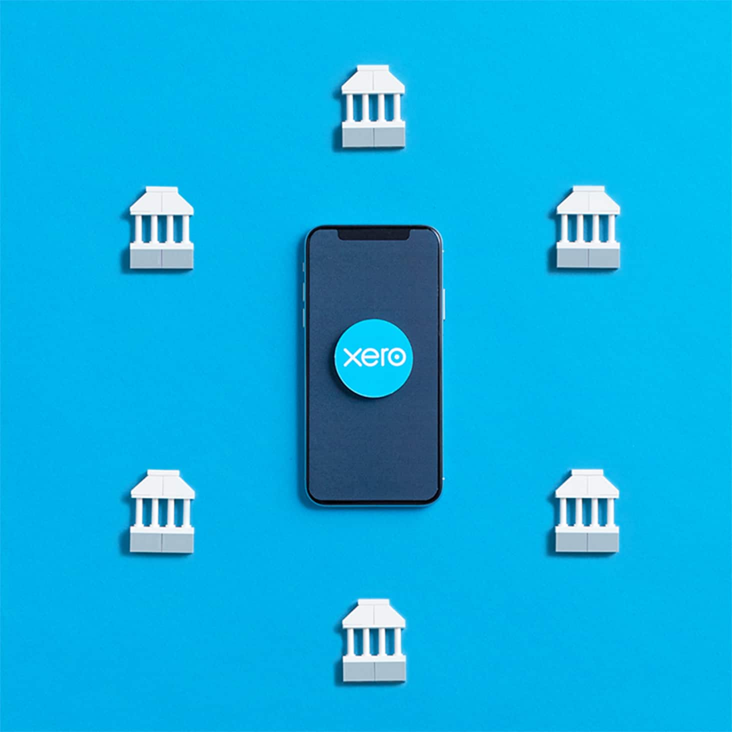Many banks from multiple countries connect directly to Xero.