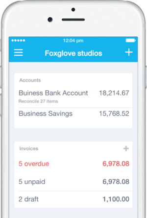 accounting software for mac and iphone