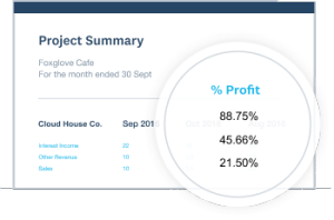 invoice management for jobs and projects