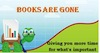 Books Are Gone logo