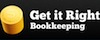 Get It Right Bookkeeping logo