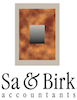 Sa & Birk Accountants logo