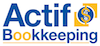 Actif Bookkeeping logo