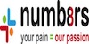 numb8rs London logo