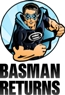 BASMAN RETURNS logo