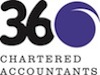 360 Chartered Accountants logo